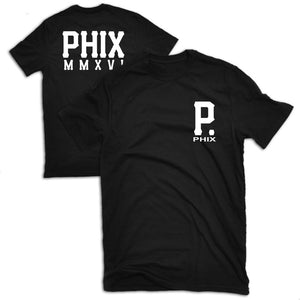 PHIX MMXVI T Shirt - Black