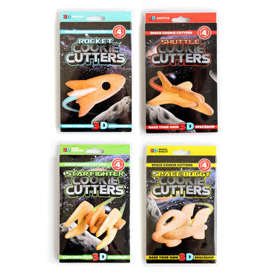 Cookie Cutter Set: 3-D Space Ships