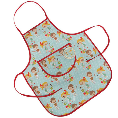 Apron: Home Baking Themed Child's Apron - Wipe Clean