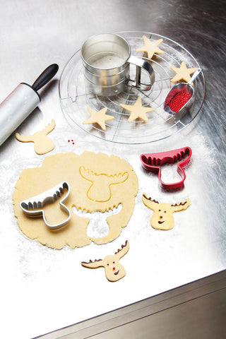 Cookie Cutters: Rudolf Reindeer Christmas Cutters