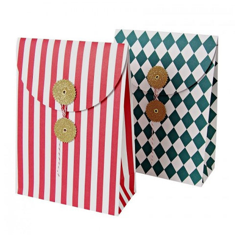 Gift Bags: Envelope Style Striped