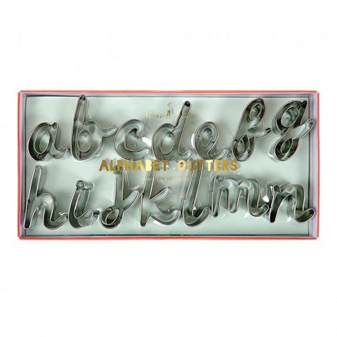 Cookie Cutter Set: Alphabet