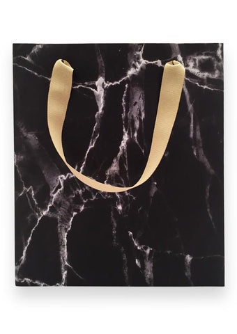 Marble Gift Bag: Black or White