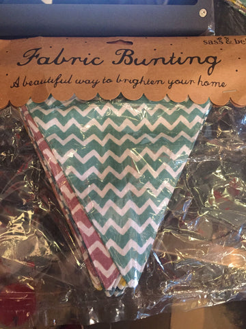 Fabric Bunting - large