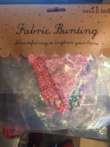 Fabric Bunting - small