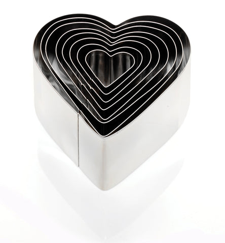 Cookie Cutters: Deep Heart or Star - Set of 8