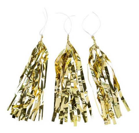 Gold Tassel Decorations