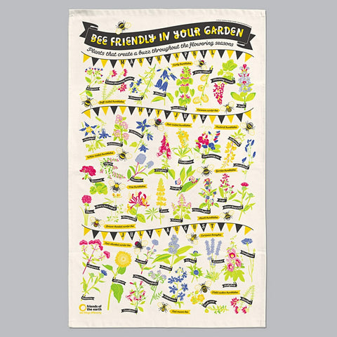 Tea Towel: Bee Friendly