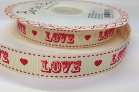 Ribbon: LOVE 3m