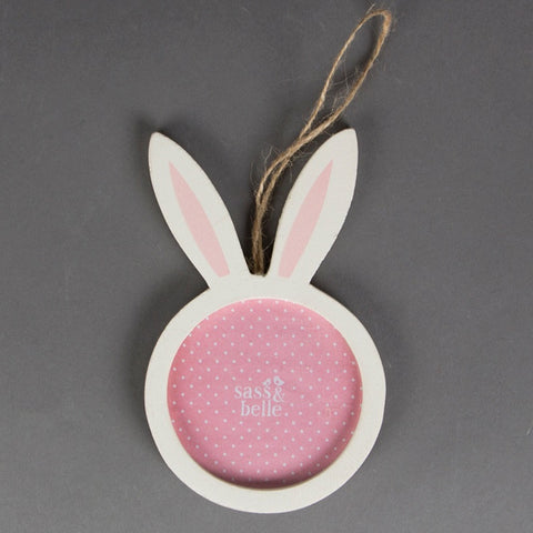 Bunny Ears Hanging Photo Frame