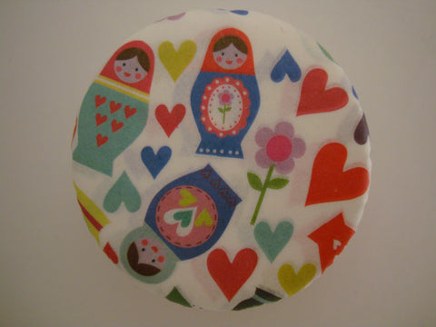 Cupcake/Muffin Cases: Russian Dolls/Matryoshka & Hearts