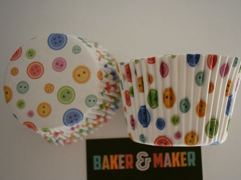 Cupcake/Muffin Cases: Buttons