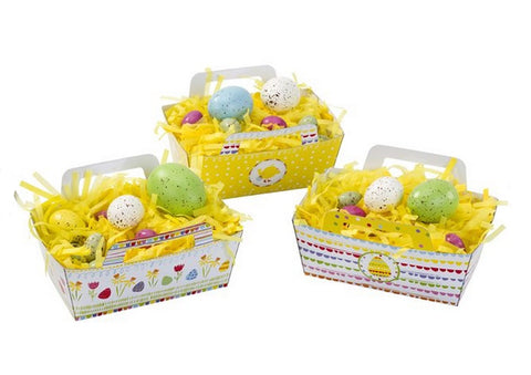 Easter Egg Baskets: Set of 3
