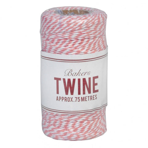 Baker's Twine 75m: Pink & White