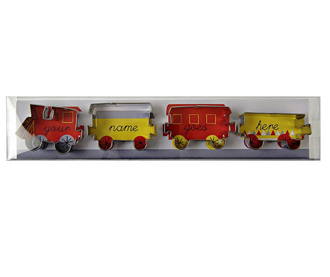 Cookie Cutter Set: Train Set