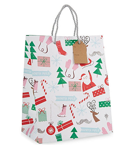 Christmas Gift Bag: Medium Meri Meri All Wrapped Up