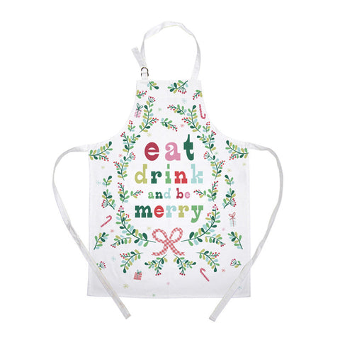 Apron: Eat, Drink & Be Merry