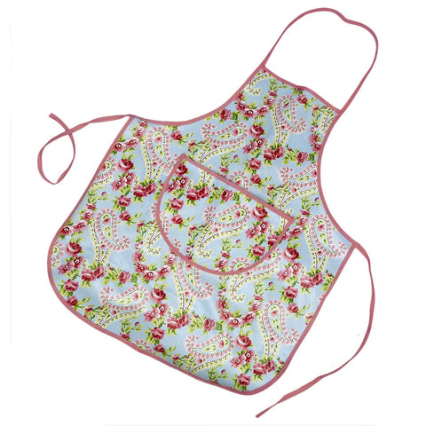 Apron: Children's Paisley - Wipe Clean