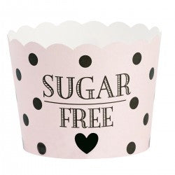 Baking Cups: Sugar Free - Pink Polka Dot - Miss Etoile - Pack of 24