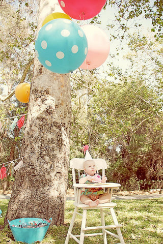 Giant 3ft/1m Balloons: Polka Dots
