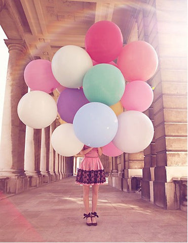 Giant 3ft/1m Balloons: Various Colours