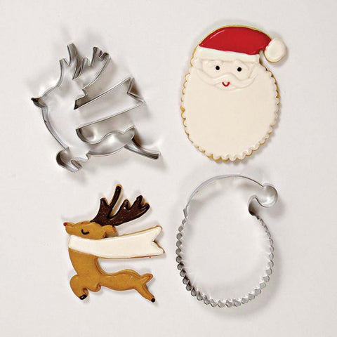 Cookie Cutter Set: Be Jolly Christmas