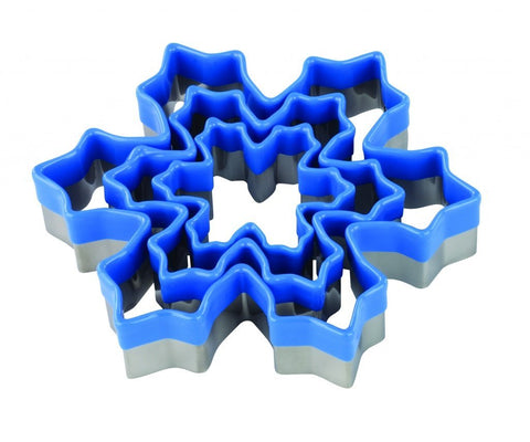 Cookie Cutter Set: Snowflake - 3 Pieces