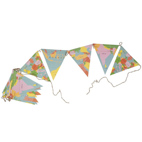 Bunting: World Map