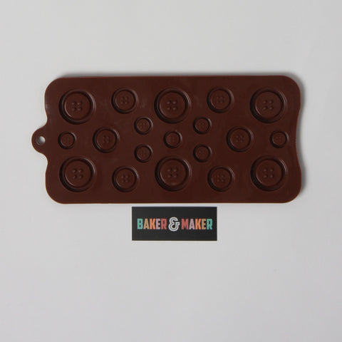 Silicone Mould: Small Buttons