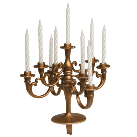 Cake Candelabra: Medium - Gold, Ivory, Red or Pink