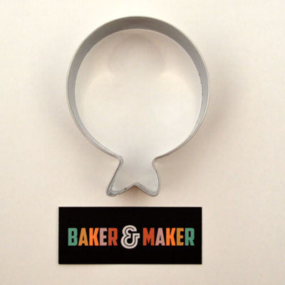 Cookie Cutters: Stainless Steel Balloon