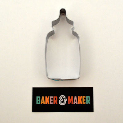 Cookie Cutters: Stainless Steel Baby Bottle