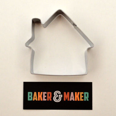 Cookie Cutters: Stainless Steel House