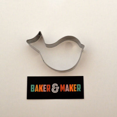 Cookie Cutters: Stainless Steel Lovebird