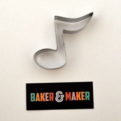 Cookie Cutters: Stainless Steel Musical Note