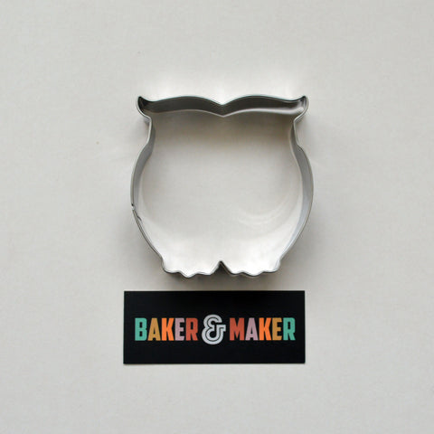 Cookie Cutters: Stainless Steel Owl