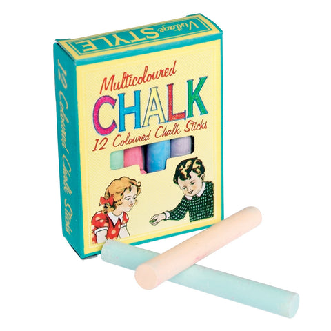 Chalk: White or Coloured