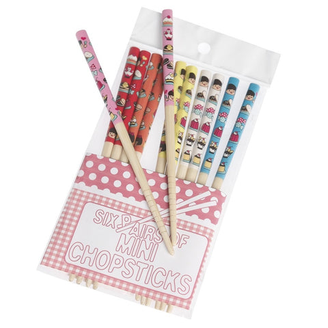 Cake Mini Chopsticks: Set of 6