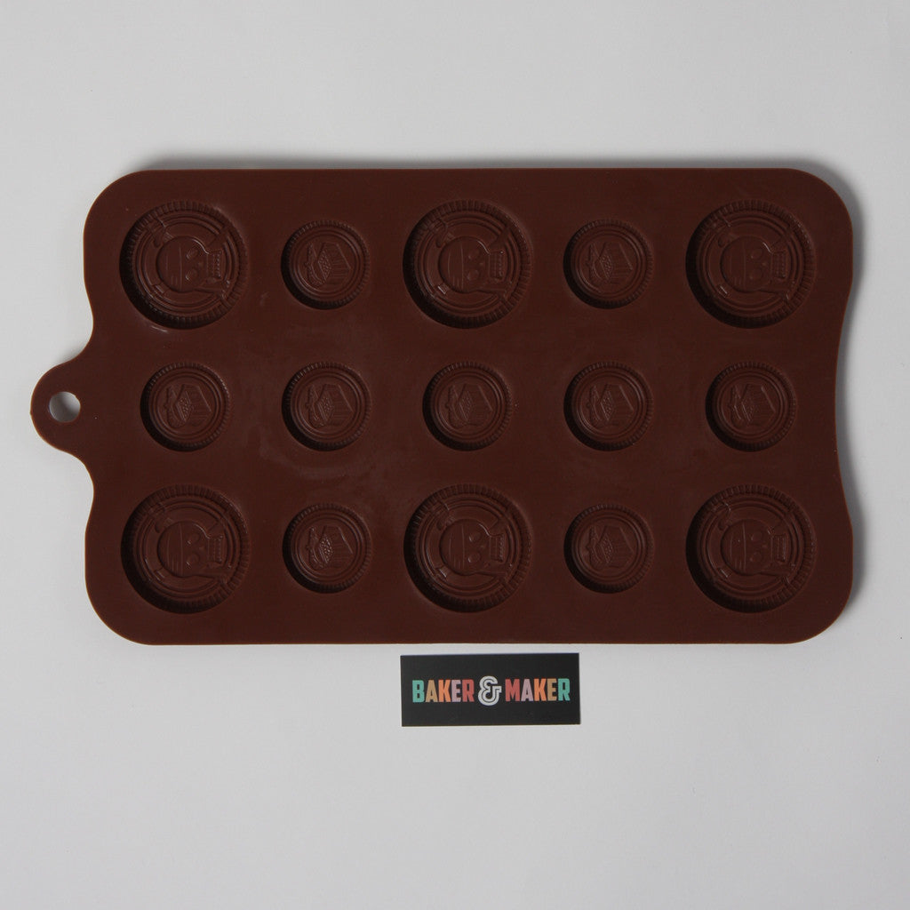 Silicone Mould: Pirate Coins - Baker and Maker