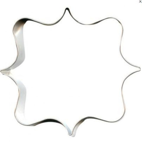 Cookie Cutter: Fancy Square Plaque