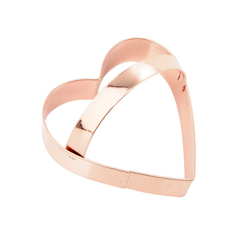 Cookie Cutter: Copper Heart 7.5cm