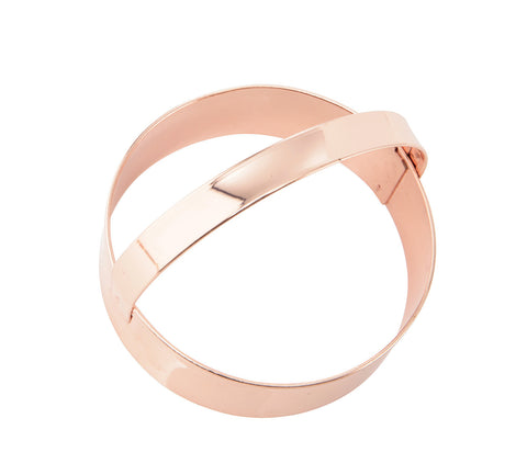 Cookie Cutter: Copper Smooth Round 7.5cm