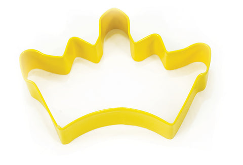 Cookie Cutters: Yellow Crown 10cm