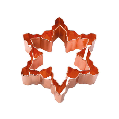 Cookie Cutter Set: Copper Snowflake - 2 pieces