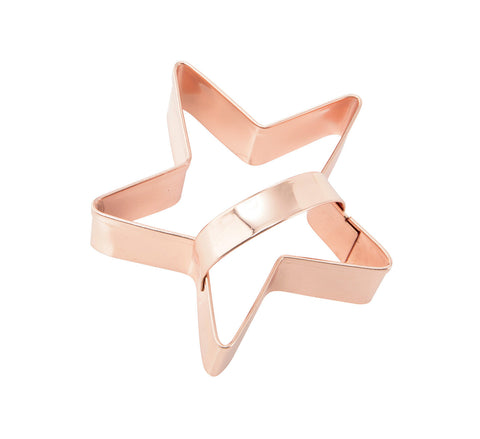 Cookie Cutter: Copper Star 8cm