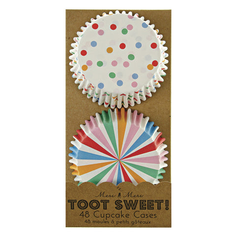 Cupcake Cases: Toot Sweet