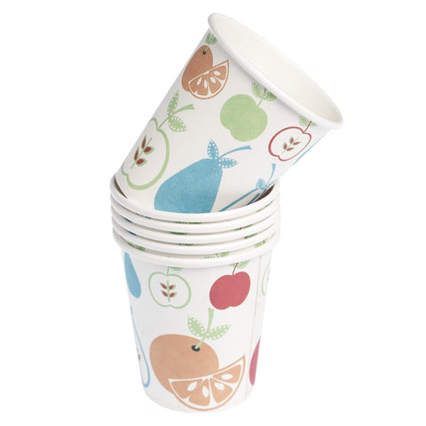 Paper Cups: Fruit Salad - Set of 6