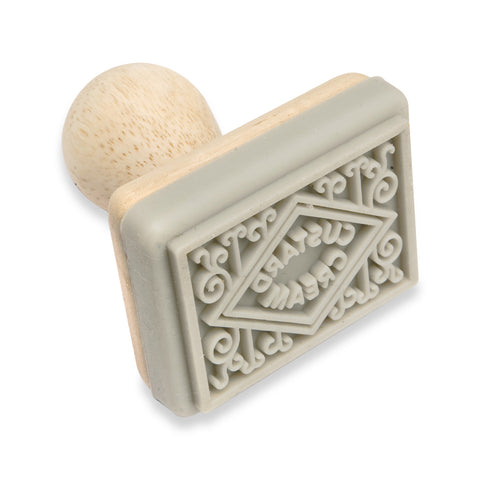 Cookie/Biscuit Stamp: Custard Cream