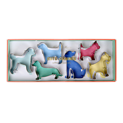 Cute Canines Cookie Cutters