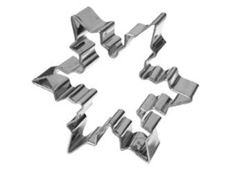 Cookie Cutters: Snowflake Stainless Steel